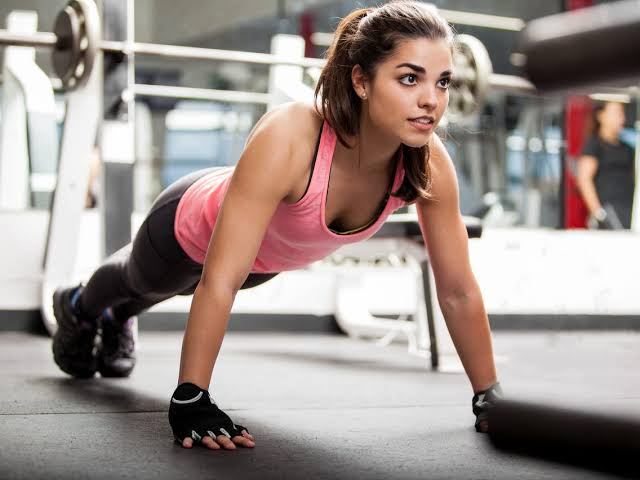 Exercise Without Weights  The Push-Up