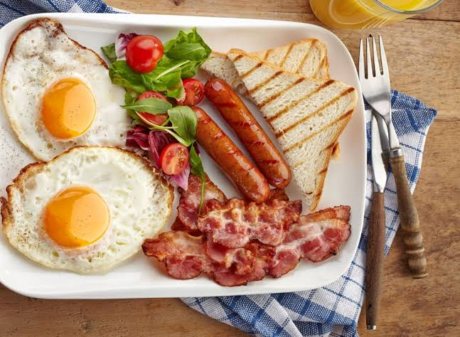 Have breakfast containing high protein