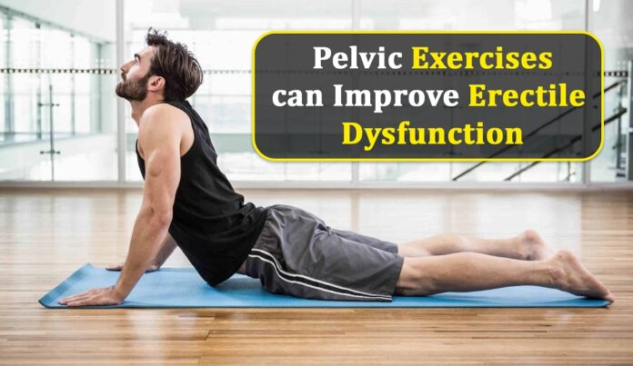 Pelvic Exercises can Improve Erectile Dysfunction, Genmedicare