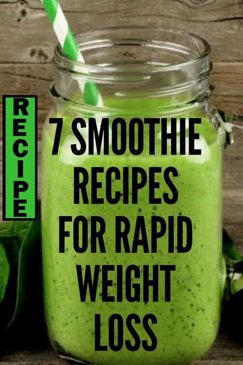 7-Smoothie-Recipes-For-Rapid-Weight-Loss